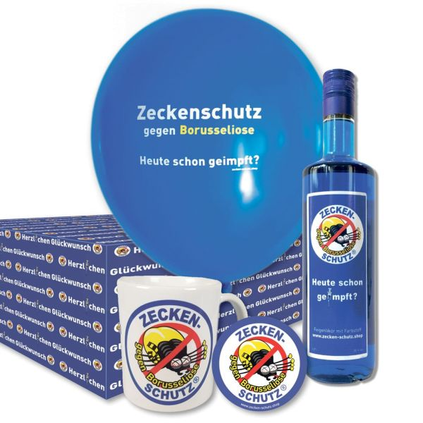 Bergknecht Zeckenschutz Glückwunschpaket