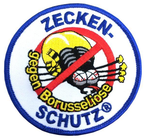 Aufnäher Zeckenschutz gegen Borusseliose